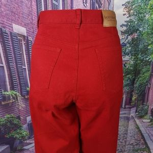 Ralph Lauren Red Jeans Size 10